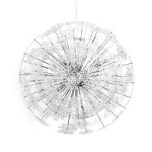 Snowflake Függőlámpa, Króm - A-Z Bútor Webáruház