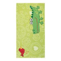 Sigikid Gyerekszőnyeg, Happy Zoo Crocodile, Zöld, 70X140 - A-Z Bútor Webáruház