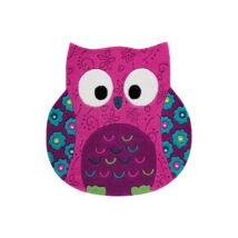 Smart Kids Gyerekszőnyeg, Littel Owl, Rózsaszín, 100 Cm - A-Z Bútor Webáruház