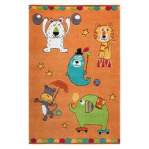 Smart Kids Gyerekszőnyeg, Little Artists, Narancs, 110X170 - A-Z Bútor Webáruház