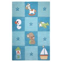 Smart Kids Gyerekszőnyeg, Newborn, Kék, 110X170 - A-Z Bútor Webáruház