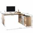 Dalton íróasztal - méretek
