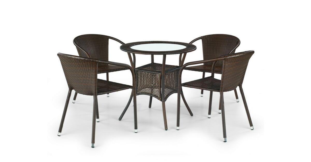 minőségi műrattan kerti szék