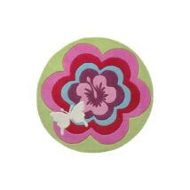 Esprit Gyerekszőnyeg, Fantasy Flower, Rózsaszín, 100 cm - A-Z Bútor Webáruház