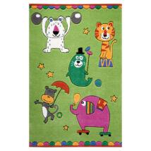 Smart Kids Gyerekszőnyeg, Little Artists, Zöld, 110X170 - A-Z Bútor Webáruház