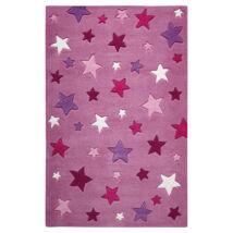 Smart Kids Gyerekszőnyeg, Simple Stars, Rózsaszín, 110X170 - A-Z Bútor Webáruház