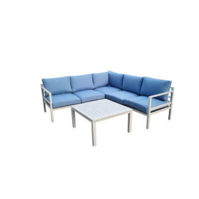 Bello Giardino Alluminio Kerti Sarokgarnitúra - A-Z Bútor Webáruház