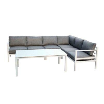 Bello Giardino Alluminio Grande Kerti Sarokgarnitúra - A-Z Bútor Webáruház