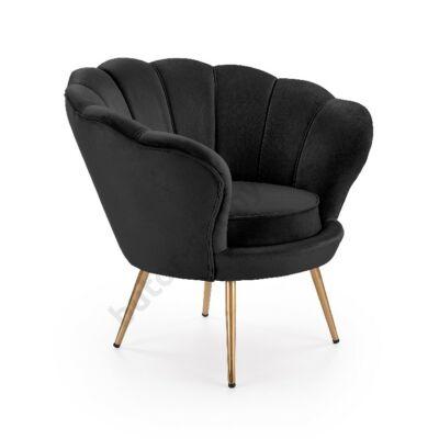 Halmar AMORINO fotel, fekete - A-Z Bútor Webáruház