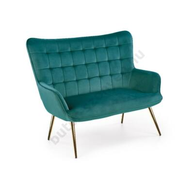 Halmar CASTEL 2 XL kanapé, sötétzöld - A-Z Bútor Webáruház