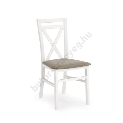 Dariusz fa étkezőszék, fehér - A-Z Bútor Webáruház