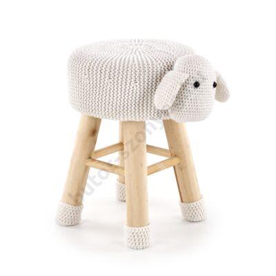 Dolly 2 báránykás ülőke, krém - A-Z Bútor Webáruház