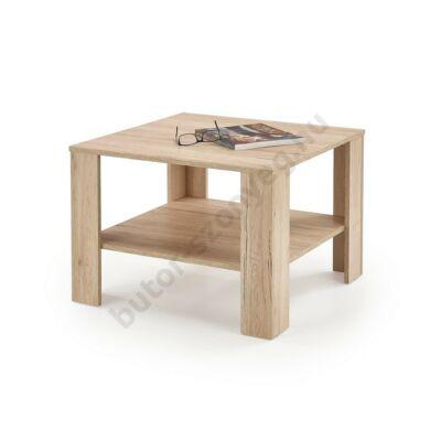 Halmar KWADRO KWADRAT Dohányzóasztal, San Remo Tölgy - A-Z Bútor Webáruház