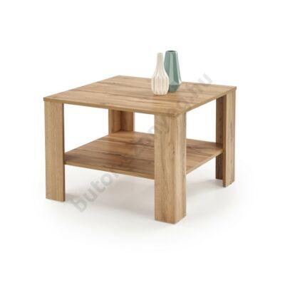 Halmar KWADRO KWADRAT Dohányzóasztal, Votan Tölgy - A-Z Bútor Webáruház