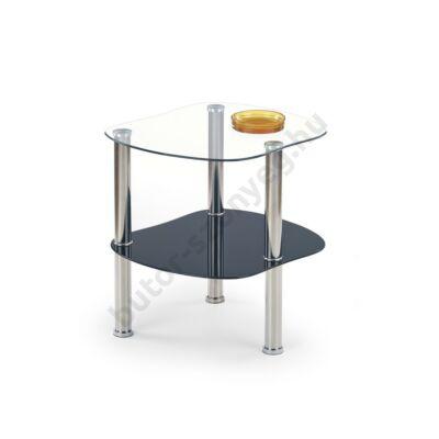 Halmar Arya Dohányzóasztal, Fekete - A-Z Bútor Webáruház