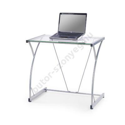 Halmar B-20 Számítógépasztal, Átlátszó - A-Z Bútor Webáruház
