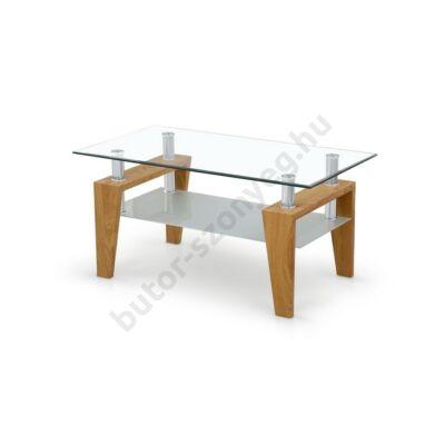Halmar Betty Dohányzóasztal, Arany Tölgy - A-Z Bútor Webáruház