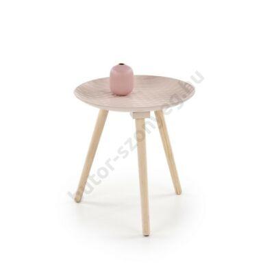 Halmar BINGO Lerakóasztal, Világos Rózsaszín - A-Z Bútor Webáruház