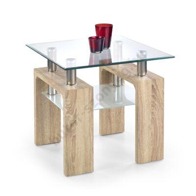 Halmar Diana H Kwadrat Dohányzóasztal, Sonoma Tölgy - A-Z Bútor Webáruház
