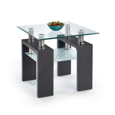 Halmar Diana H Kwadrat Dohányzóasztal, Wenge - A-Z Bútor Webáruház
