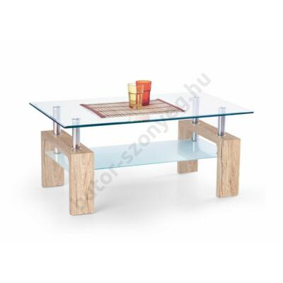 Halmar Diana Intro Dohányzóasztal, San Remo Tölgy - A-Z Bútor Webáruház