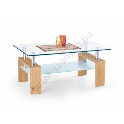 Halmar Diana Intro Dohányzóasztal, Arany Tölgy - A-Z Bútor Webáruház