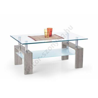 Halmar Diana Intro Dohányzóasztal, Sötét Sonoma Tölgy - A-Z Bútor Webáruház