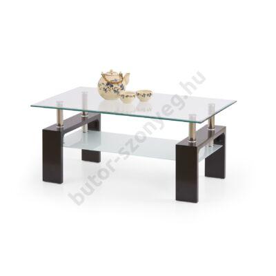 Halmar Diana Intro Dohányzóasztal, Wenge - A-Z Bútor Webáruház