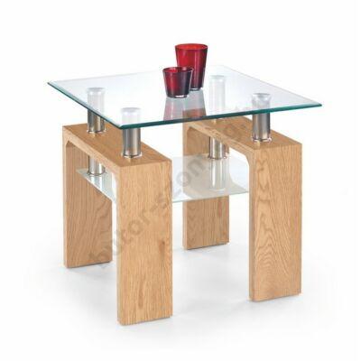 Halmar Diana H Kwadrat Dohányzóasztal, Arany Tölgy - A-Z Bútor Webáruház