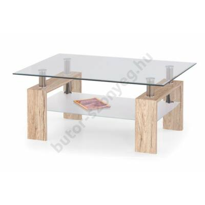 Halmar Diana Max Dohányzóasztal, San Remo Tölgy - A-Z Bútor Webáruház
