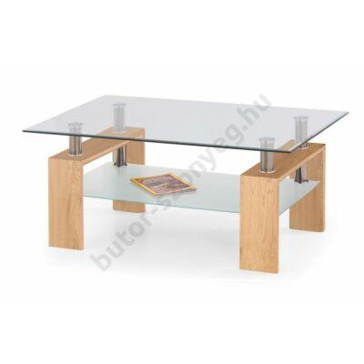 Halmar Diana Max Dohányzóasztal, Arany Tölgy - A-Z Bútor Webáruház