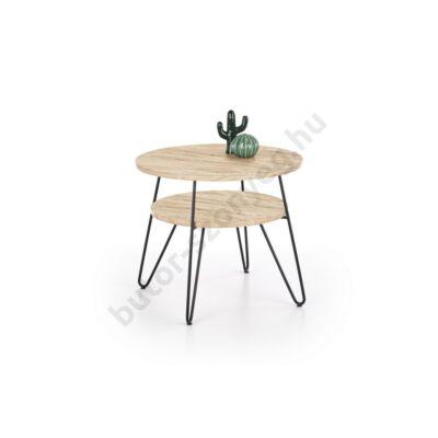 Halmar EZRA 2 Dohányzóasztal, San Remo Tölgy - A-Z Bútor Webáruház
