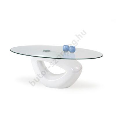 Halmar Jasmin Dohányzóasztal, Fehér - A-Z Bútor Webáruház