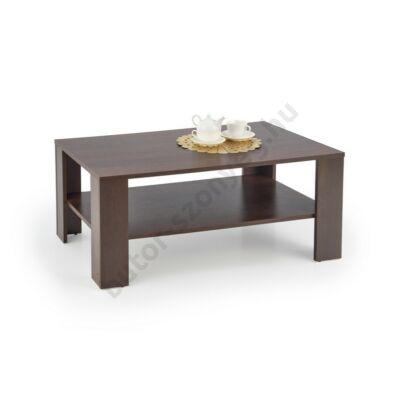 Halmar KWADRO Dohányzóasztal, Sötét Dió - A-Z Bútor Webáruház
