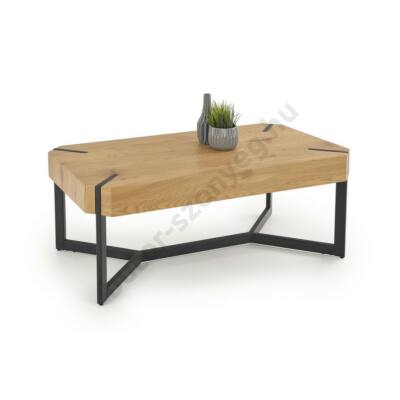 Halmar LAVIDA Dohányzóasztal, Arany Tölgy - A-Z Bútor Webáruház