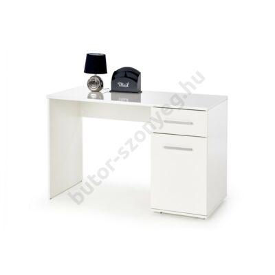 Halmar LIMA B-1 Íróasztal, Fehér - A-Z Bútor Webáruház