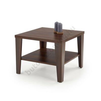 Halmar MANTA KWADRAT Dohányzóasztal, Sötét Dió - A-Z Bútor Webáruház