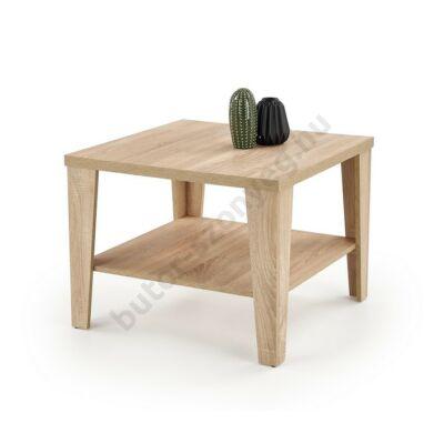 Halmar MANTA KWADRAT Dohányzóasztal, Sonoma Tölgy - A-Z Bútor Webáruház