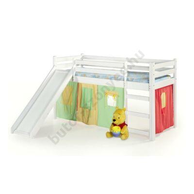 Halmar Neo Plus Gyerekágy Csúszdával, Fehér - A-Z Bútor Webáruház