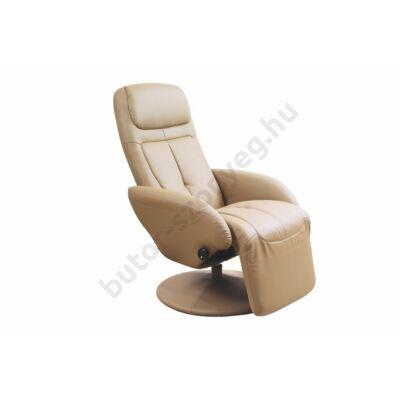 Halmar Optima Relax Fotel, Bézs - A-Z Bútor Webáruház
