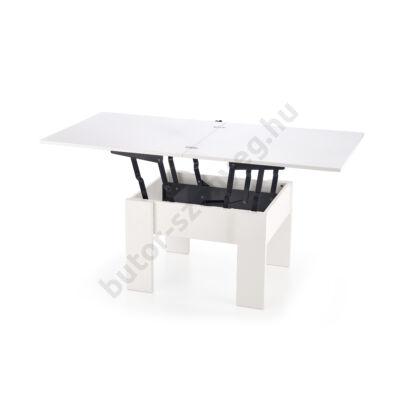 Halmar SERAFIN Dohányzóasztal, Fehér - A-Z Bútor Webáruház