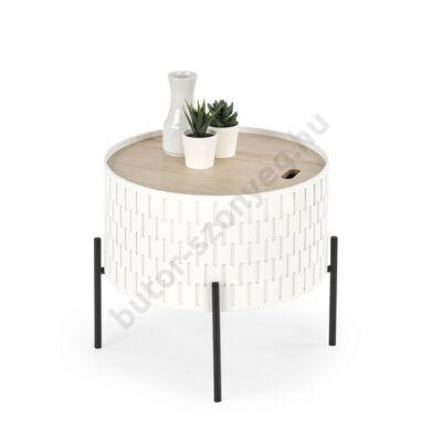 Halmar SINTRA Lerakóasztal, Fehér - A-Z Bútor Webáruház