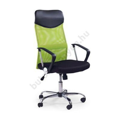 Vire irodai forgószék zöld színben