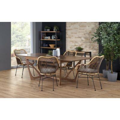 WENANTY asztal kihúzva, K336 székekkel