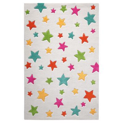 Smart Kids Gyerekszőnyeg, Simple Stars, Fehér, 110X170 - A-Z Bútor Webáruház