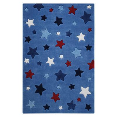 Smart Kids Gyerekszőnyeg, Simple Stars, Kék, 110X170 - A-Z Bútor Webáruház