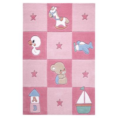 Smart Kids Gyerekszőnyeg, Newborn, Rózsaszín, 110X170 - A-Z Bútor Webáruház