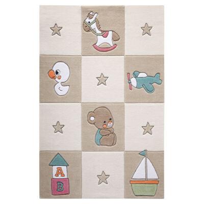 Smart Kids Gyerekszőnyeg, Newborn, Bézs, 110X170 - A-Z Bútor Webáruház